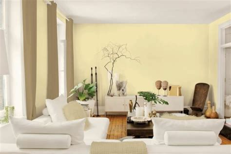 farbauswahl wandfarbe farbpalette wandfarben wohnzimmer w 228 nde streichen gelb