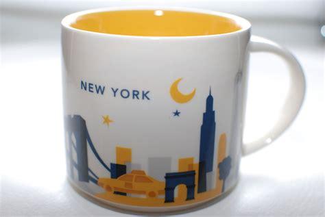 Starbucks Card Us City Series 2016 New York City starbucks city mugs you are here series