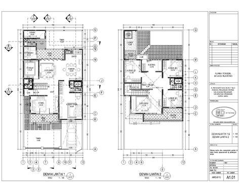 desain denah rumah minimalis 2014