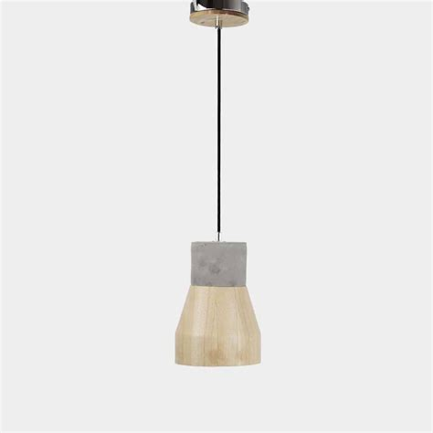 Concrete Pendant Light Timber Shade Concrete Pendant Light Concrete Therapy Shop By Collection