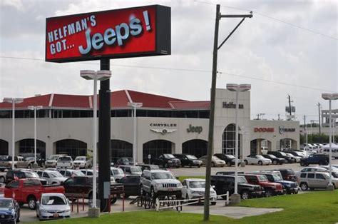 Helfman Jeep Helfman Dodge Chrysler Jeep Ram 16 Photos Car Dealers