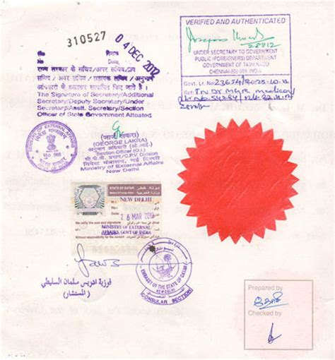 Attesting Documents In India