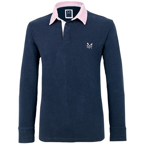 Sleeve Classic crew clothing classic sleeve rugby shirt mde009