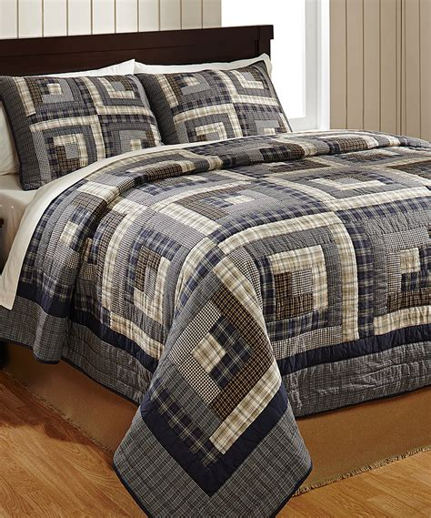 Log Cabin Quilt Settings by American Log Cabin Quilt Set Zulily