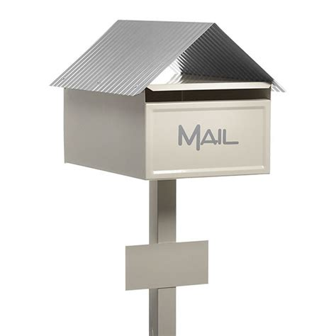 Of Letter Box Valley Modern Deluxe Freestanding Letterbox Milkcan
