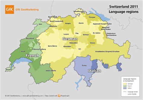 austria language map