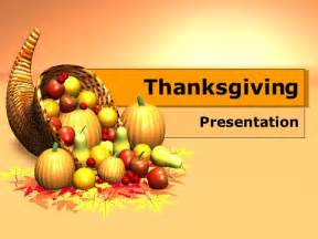 Thanksgiving Powerpoint Template by Thanksgiving Template Free