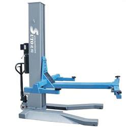 one post hydraulic pneumatic lift for car washing chassis