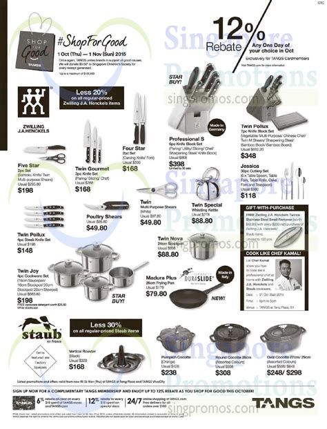 zwilling singapore tangs cookware 30 oct 2015 187 zwilling j a henckels staub