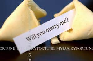 my lucky fortune, inc :: proposal fortune :: will you
