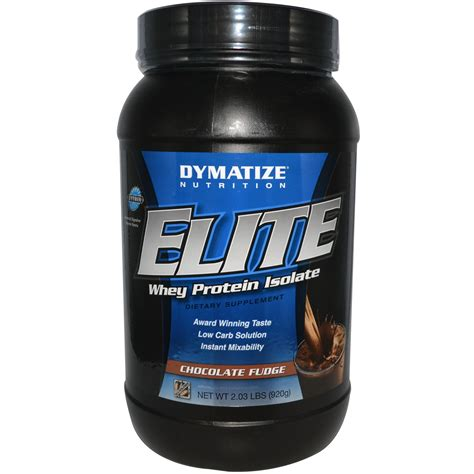 Whey Protein Isolate Dymatize Nutrition Elite Whey Protein Isolate Chocolate