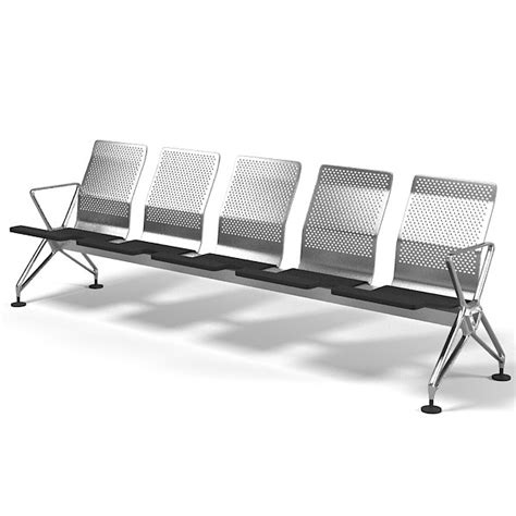 space seating vitra airline airport 3d model