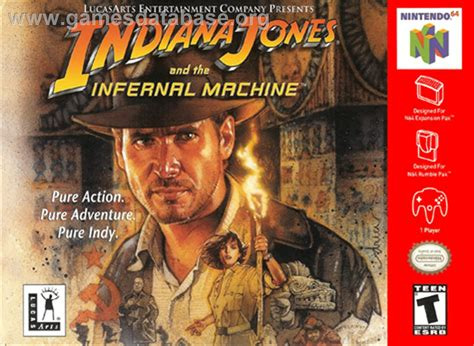 infernal machines books indiana jones and the infernal machine nintendo n64