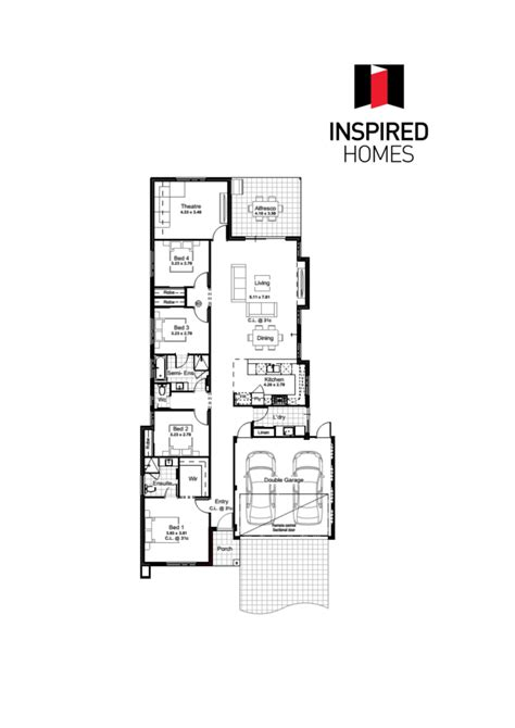 floor plan logo vison floorplan with logo inspired homes