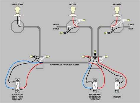 How To Wire A Switch To A Light Electrical Combine Two Independent Switches Into 3 Way