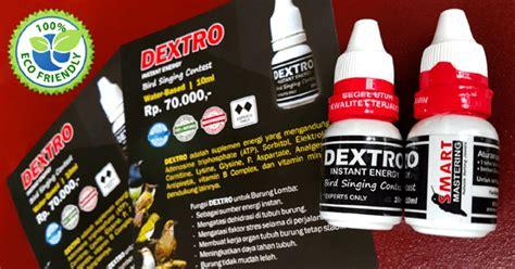 Vitamin Smart Dextro ramuan rahasia untuk burung pleci smart mastering