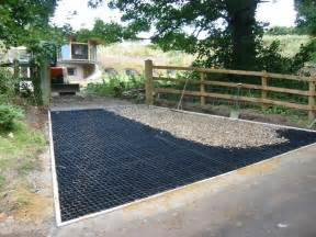 driveway reinforcement water permeable driveways