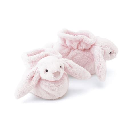 Jelly Cat Large Bashful Pink Bunny buy bashful pink bunny booties at jellycat
