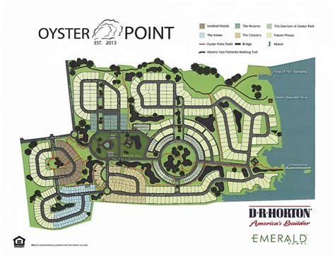 Single Family Floor Plans Oyster Point