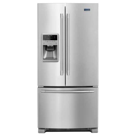 maytag 33 in w 21 7 cu ft door refrigerator in