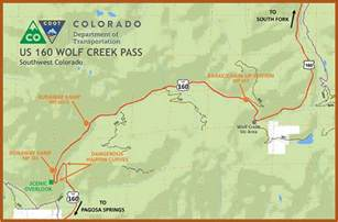 wolf creek pass colorado map wolf creek claims another victim 42 100 pounds of