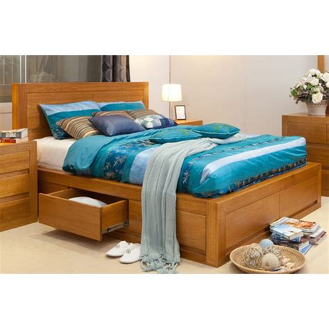 claremont tassie oak luxury bed wooden furniture