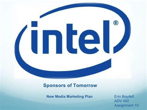 Intel Presentation Intel Ppt Template