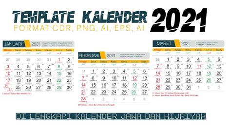 template kalender  cdr png ai psd  gratis