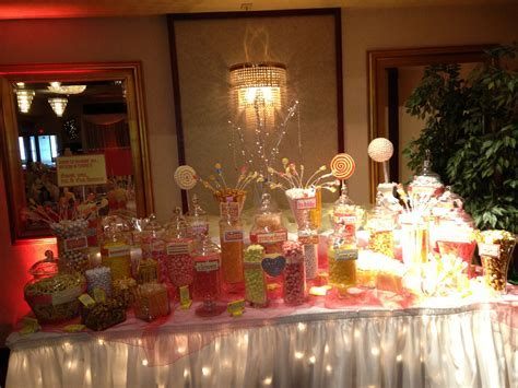 Wedding candy buffet   Candy Buffet Ideas   Pinterest
