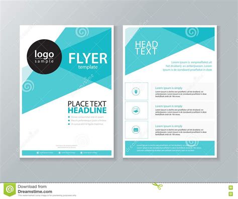 describe layout of a report business brochure flyer report layout design template