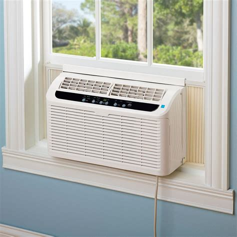 Ac Window Unit the world s quietest window air conditioner hammacher