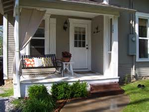 porch ideas our vintage home love front and side porch redo