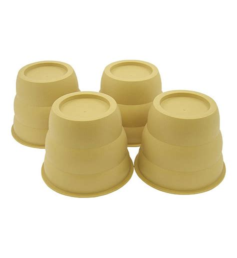 12 inch bed risers round 4 inch bed risers beige set of 4 in bed risers