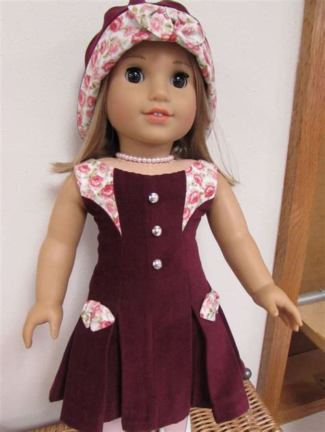 design doll lily dress is from lily of the valley pattern by melody valerie