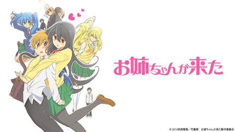 onee chan ga kita crunchyroll announces 26 new anime titles for the winter