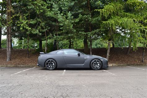nissan gtr wrapped matte black nissan gtr wrap reforma uk