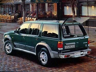 Ford 1995 19981 2 Model 1995 Ford Usa Explorer 2gen 2wd Range Specs