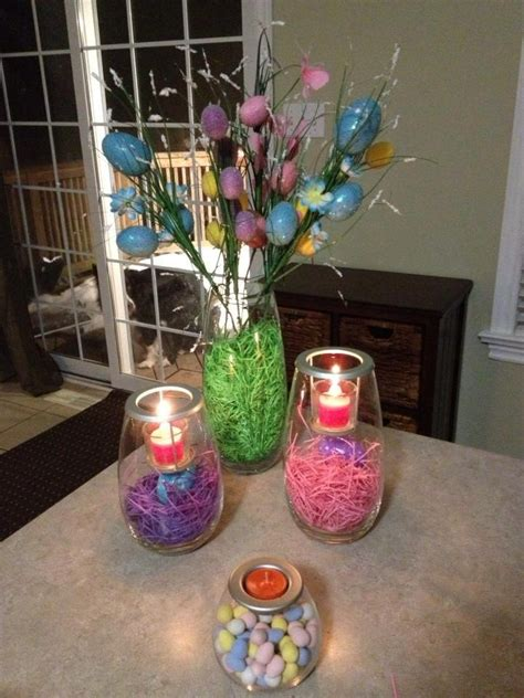 pinterest spring home decor easter decorating idea from partylite partylite