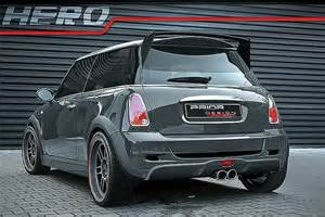 Tuned Mini Cooper Prior Design Mini Cooper S Car Tuning
