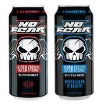 energy drink no sugar sugar free no fear caffeinated