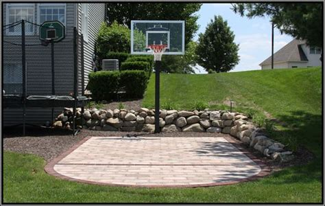 how to build a basketball court in backyard backyard basketball court ideas to help your family become