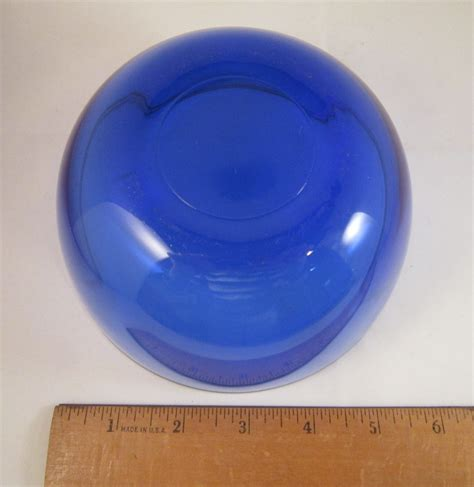 Blue Glass Vases And Bowls Cobalt Blue Glass Bowl Serving Dish Vase For White