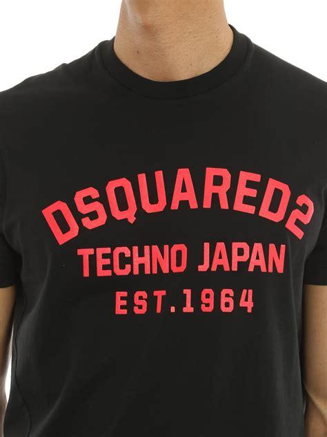 techno japan techno japan t shirt by dsquared2 t shirts ikrix