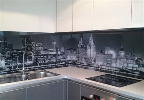 led digital kitchen backsplash best 25 kitchen glass splashbacks ideas on pinterest