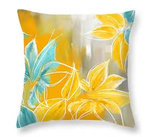 yellow and turquoise throw pillows using yellow and gray teal turquoise red and gray lourry legarde