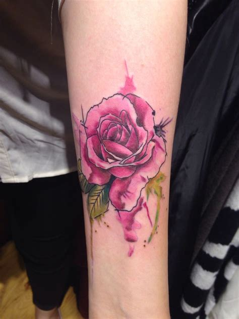 water colour rose tattoo 20 best ideas about watercolor tattoos on