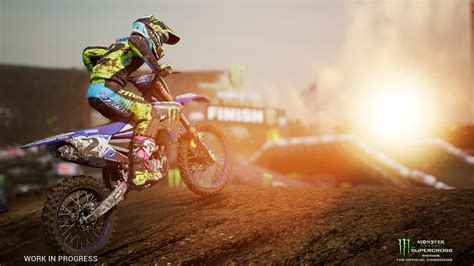 monster energy motocross square enix announces monster energy motocross game for