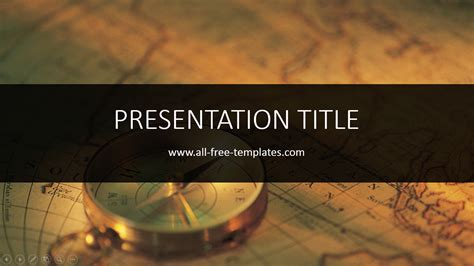 history powerpoint template all free templates