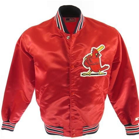 The 7 Jackets You To For by Vintage 80s St Louis Cardinals Starter Jacket L Mlb
