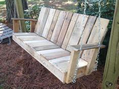 how to make a swing bench 25 best ideas about pallet porch swings on pinterest